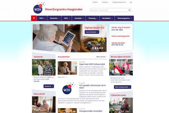 Web ontwikkeling      You are here: HomeWerkWeb ontwikkeling  WEBONTWIKKELING PROJECTEN WoonZorgcentra Haaglanden